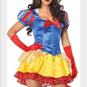 Snow White Halloween Costume-Medium/Large